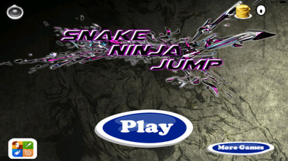 A Snake Ninja Jump Pro - Amazing Adventure Game screenshot 1