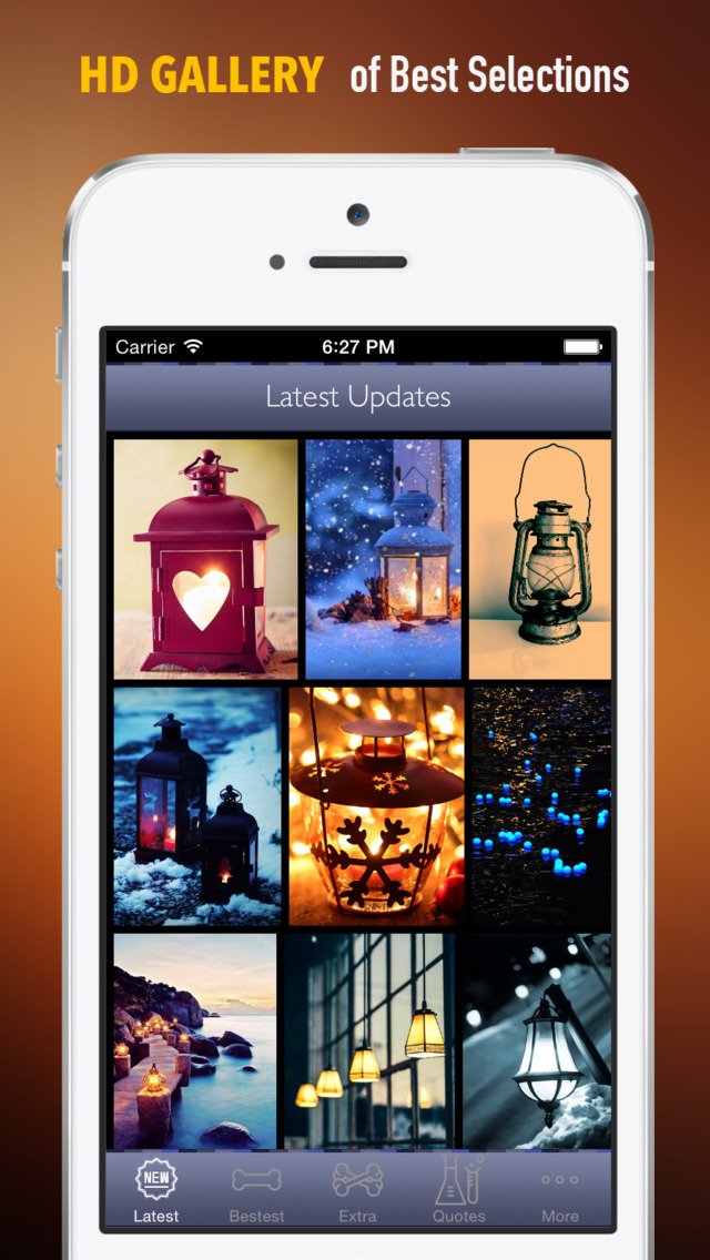 Lantern Wallpapers HD: Quotes Backgrounds with Art Pictures screenshot 1