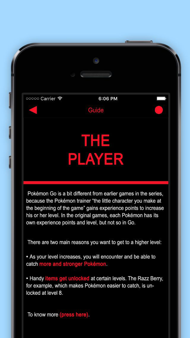 Guide & Tricks for Pokémon GO screenshot 2