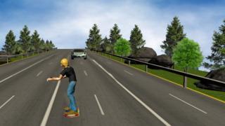 Hoverboard Racer 3D screenshot 1