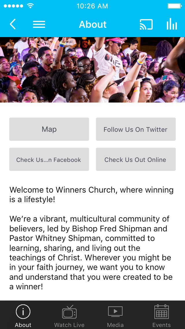 Winners Church screenshot 1