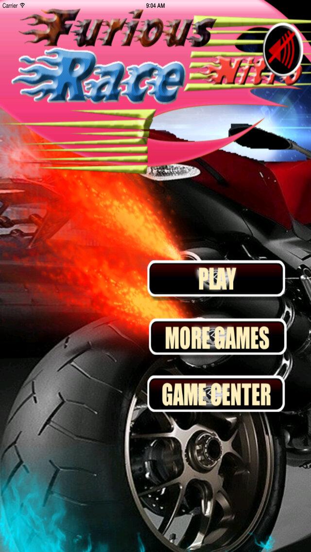 A Furious Nitro Race PRO - No Limit Adrenaline Amazing screenshot 1
