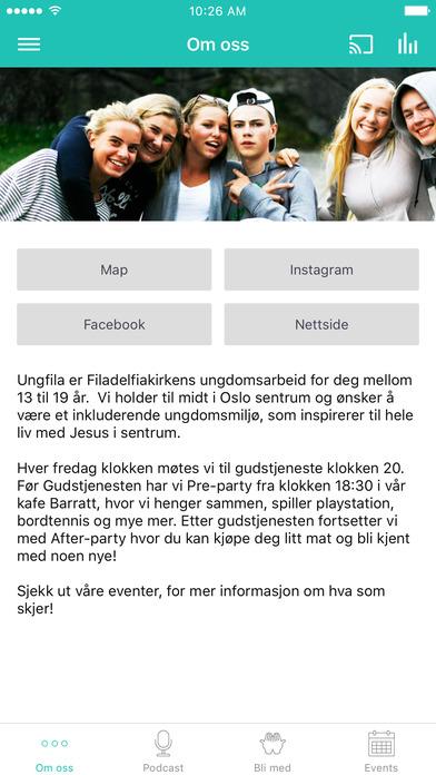 Ungfila screenshot 1