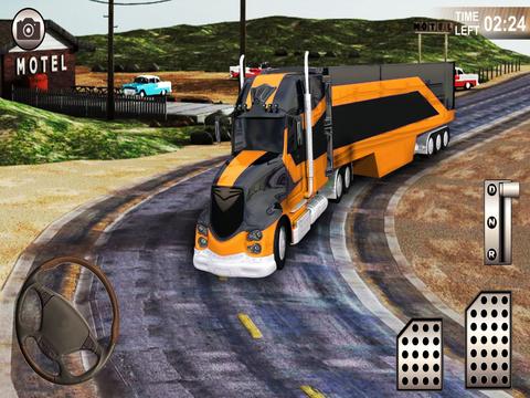 Speed Truck Parking Simulator screenshot 6