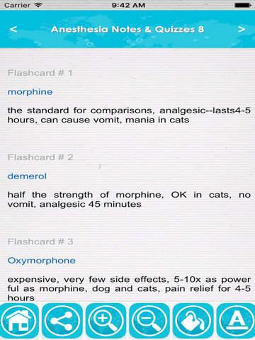 Anesthesia Exam Review : Q&A screenshot 6