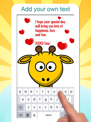 Birthday Greeting Cards - Text on Pictures: Happy Birthday Greetings screenshot 7