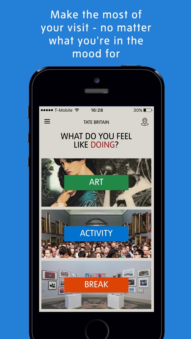 Tate App screenshot 1