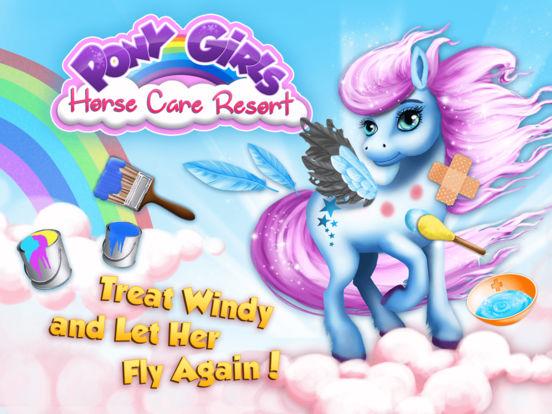 Pony Girls Horse Care Resort - No Ads screenshot 6