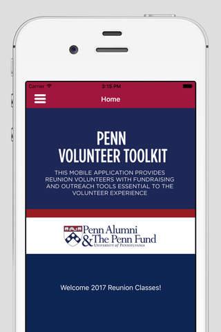 Penn Volunteer Toolkit - náhled