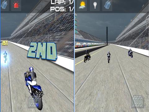 Moto Bike Racer : 3D Motorbikers Heated Chase Fun screenshot 8