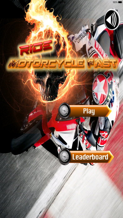 A Ride Motorcycle Fast - Awesome Highway Game screenshot 1