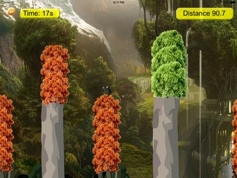 Cyber Fly Escape Rope Warrior - Kingdom Secret Flying screenshot 9
