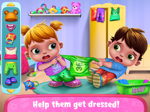 Baby Twins Babysitter screenshot 7