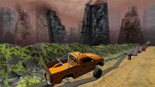Monster Truck Racing: Up Hill Climb Race 4x4 Free screenshot 2