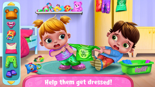Baby Twins Babysitter screenshot 2