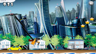 A Super Jump In The Metal City PRO- Jumping Game In Large Buildings screenshot 3