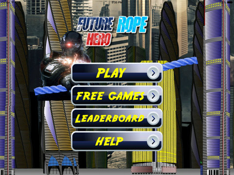 Future Rope Hero PRO - Holy Adventure Swing screenshot 6