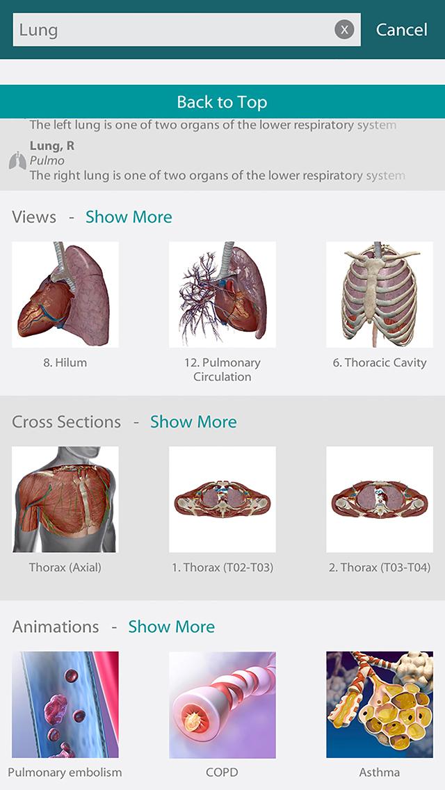 Human Anatomy Atlas 2020 screenshot 2