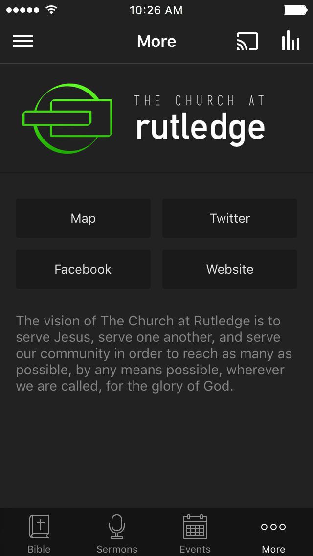 The Church at Rutledge screenshot 3
