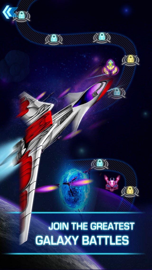 Galaxy Fighter: Star Defense screenshot 1