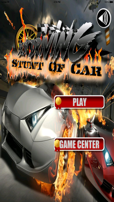 Best Driving Stunt Of Car - Awesome Zone To Speed Game screenshot 1