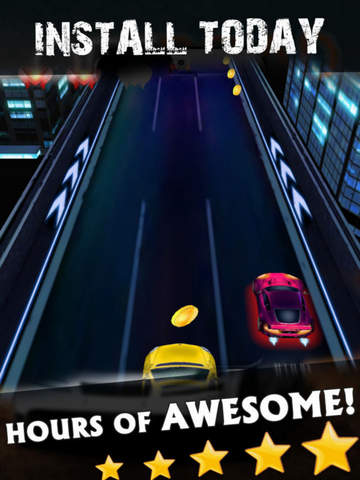 Racing Speed: Night Fast Car screenshot 4