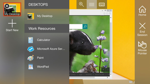 screen for iphone microsoft remote desktop on the app 5937