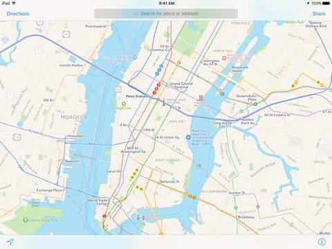Apple Maps screenshot 2