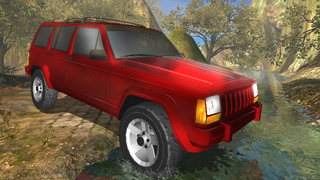 3D Noja Jeep Parking 2 - eXtreme Off Road 4x4 Driving & Racing Simulator screenshot 2