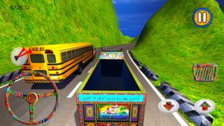PK Cargo Truck Driving Simulator screenshot 2