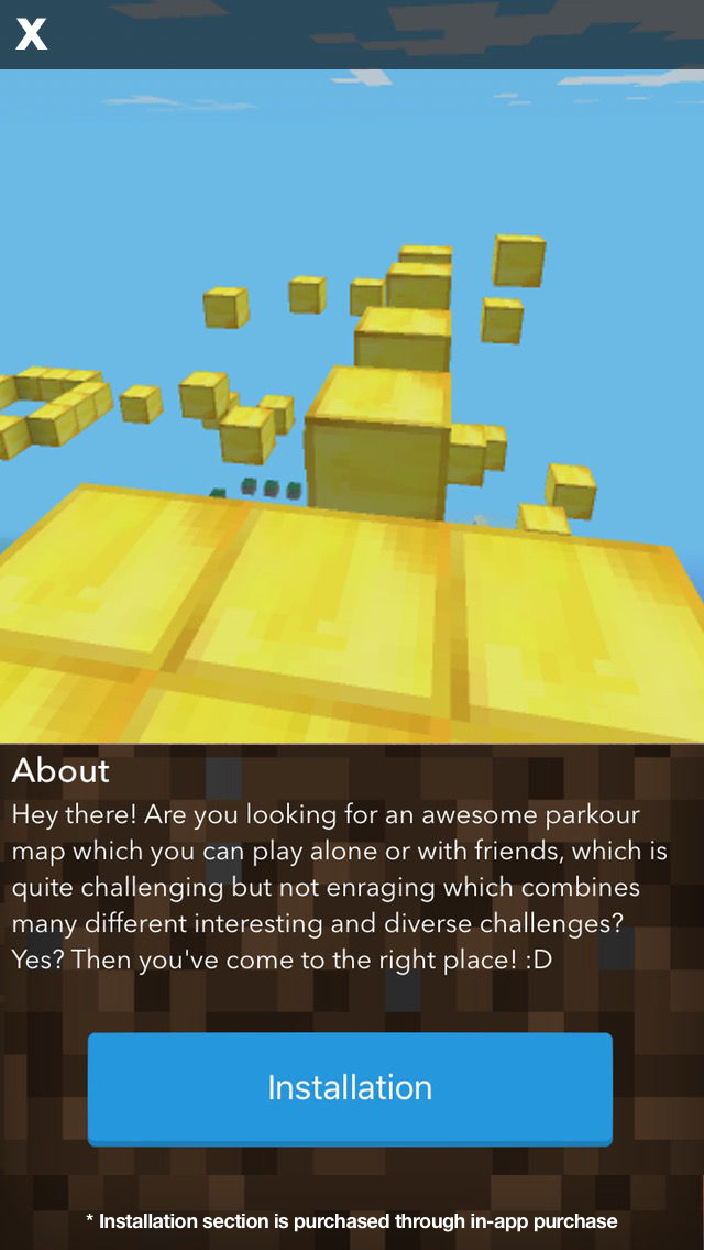 Parkour Maps for Minecraft PE (Pocket Edition) - Download Maps for