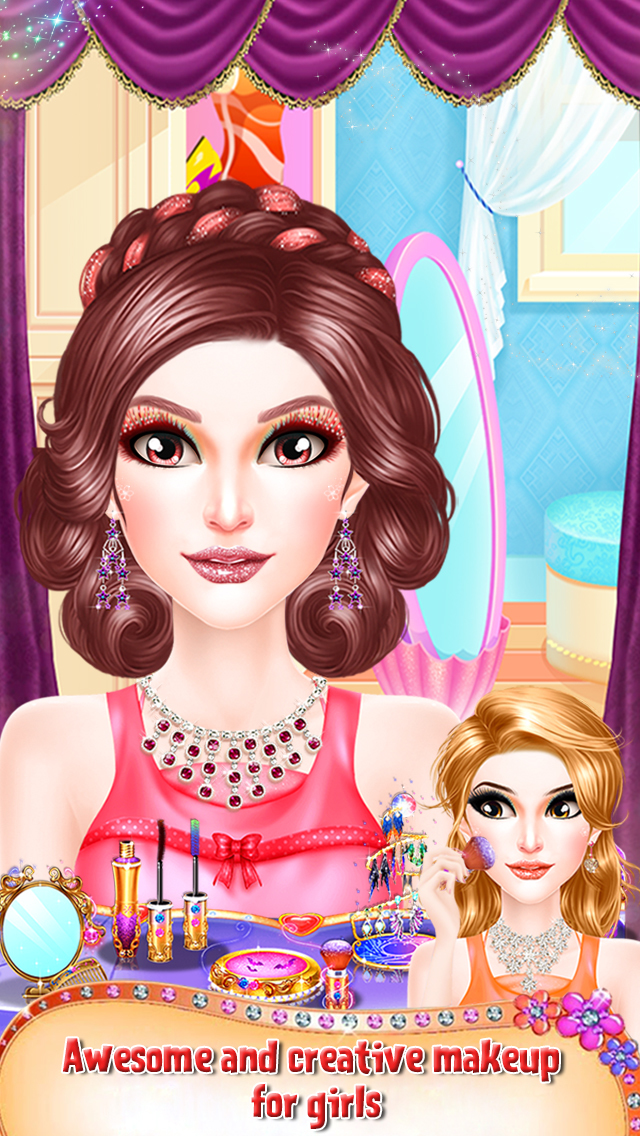 Princess Valentine Hair Style screenshot 2