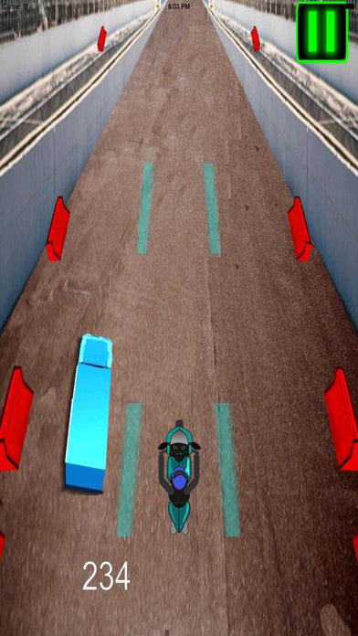 A Fast Motorcycle Racing Fury Pro - A Lighted Track screenshot 2
