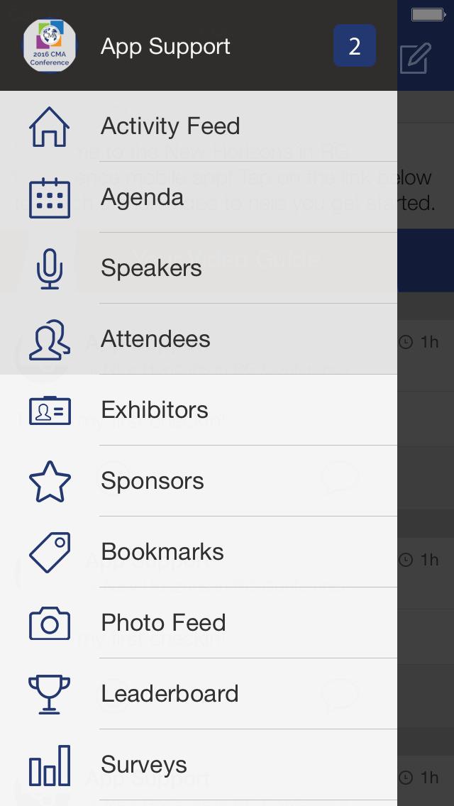 2016 CMA Conference screenshot 1