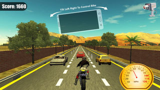 Furious Moto Racing screenshot 1
