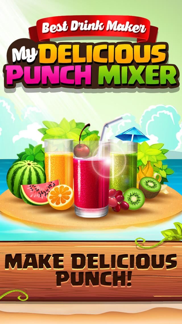 Crazy Drink Maker - Sweet Ice & Fizzy Juice Salon screenshot 1