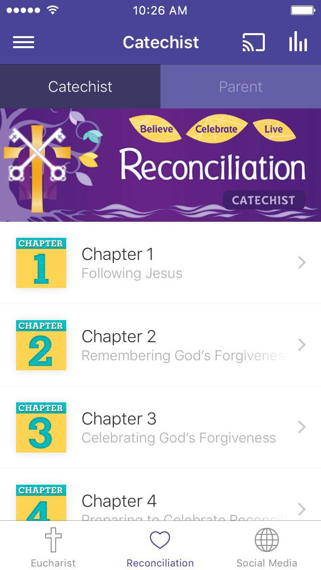 Sadlier Sacraments screenshot 2