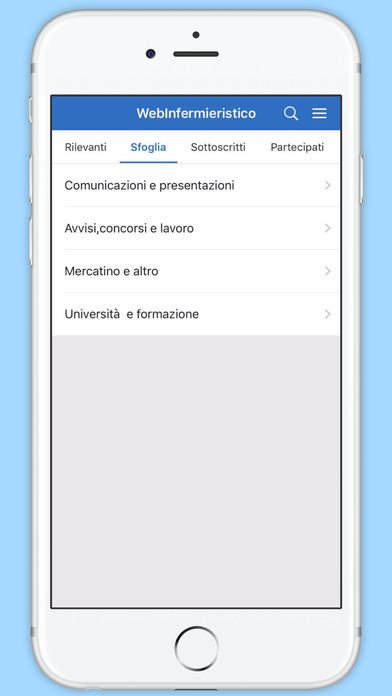 WebInfermieristico screenshot 2