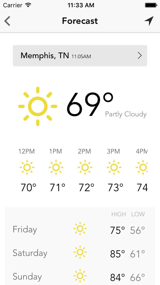 MEM wx: Memphis Weather Forecast, Traffic & Radar | Apps