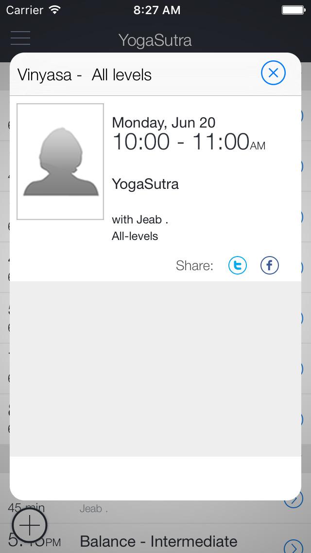 YogaSutra Studio screenshot 2