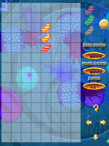 A Super Fusion Of Fruits And Flavors - Tetris Game Large Fruit screenshot 8