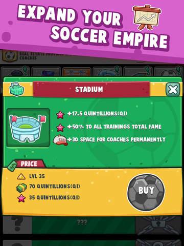 Soccer Simulator: Idle Clicker/Tap Game (free) screenshot 9