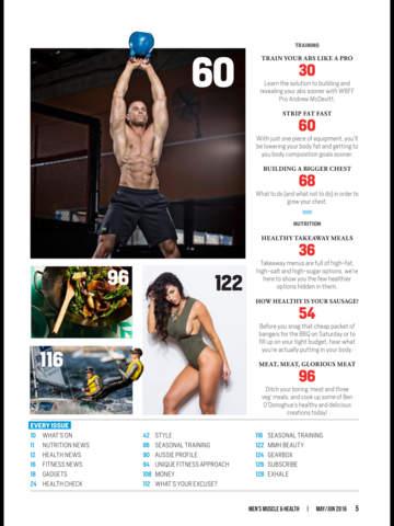 Men's Muscle & Health screenshot 8