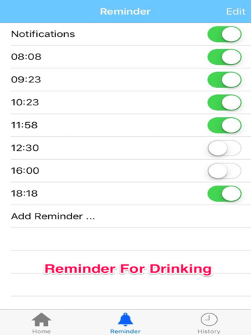 Drink Water Reminder - Tracking Daily Water Intake screenshot 5