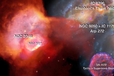 Astronomical Object - Galaxy Nebula Supernova and  - náhled