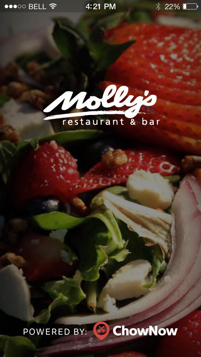 Molly's Restaurant 2 Go screenshot 1