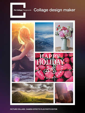 Pic Collage Playgrounds – picture collage, camera effects plus photo editor screenshot 9
