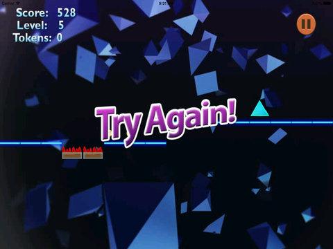 A Stellar Jump Geometry PRO - Best Neon Bouncing Game screenshot 10