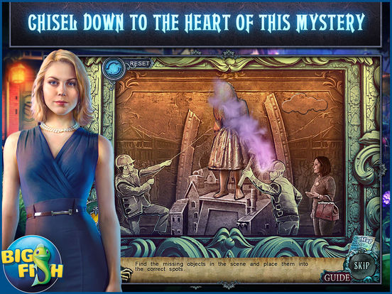 Fear for Sale: City of the Past HD - A Hidden Object Mystery (Full) screenshot 3
