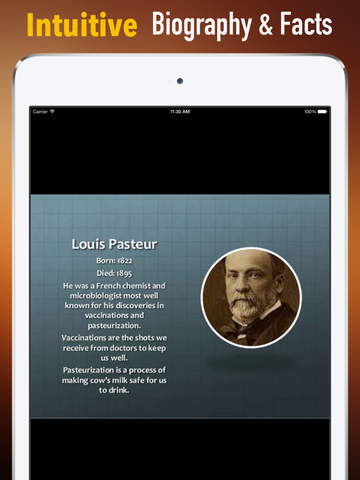 Biography and Quotes for Louis Pasteur: Life with Documentary screenshot 6